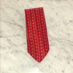 Hermès Men's 100% Silk Tie